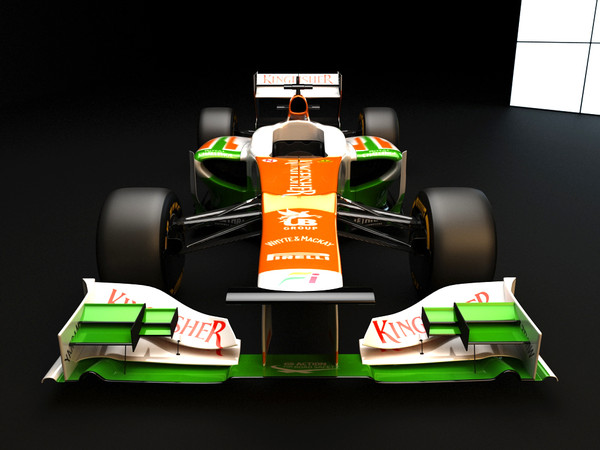 3d model of force india vjm05 - F1 Force India VJM05 2012... by dessga