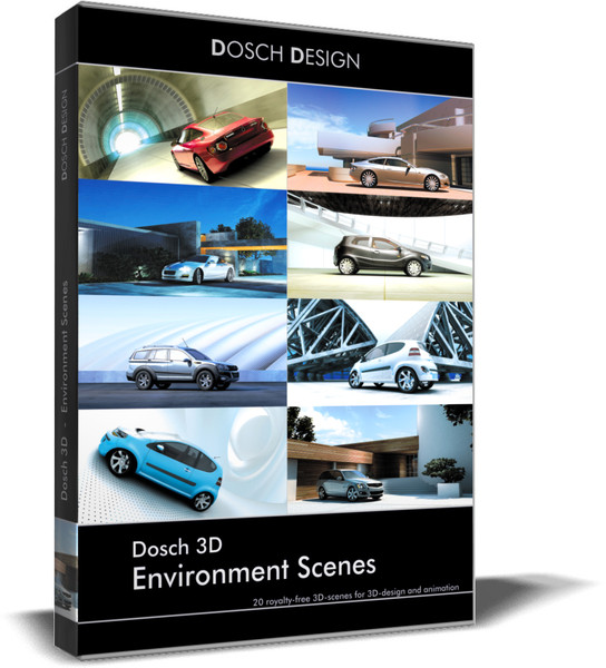 3d model scenes environment - - DOSCH 3D - Environment Scenes... by Dosch Design