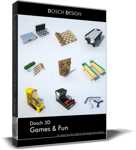 games fun 3d: max - DOSCH 3D: Games & Fun... by Dosch Design