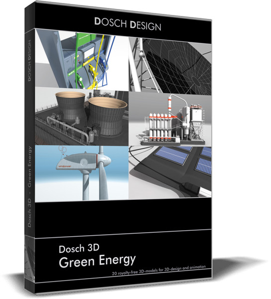 3ds max energies green - DOSCH 3D - Green Energy... by Dosch Design