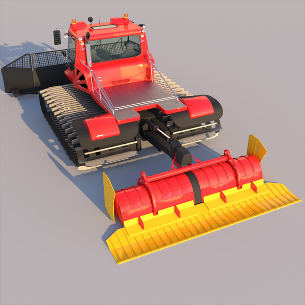 3d model snowcat pistenbully 600 - Snowcat PistenBully 600... by ArqArt3D