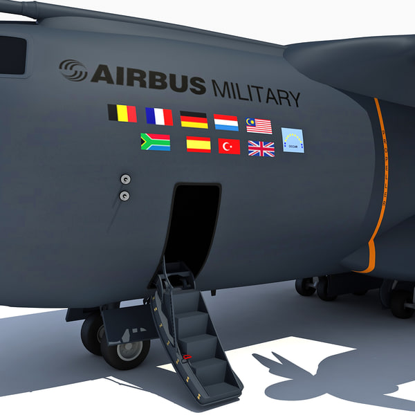 3d model of airbus a400m - Airbus A400M... by Gandoza