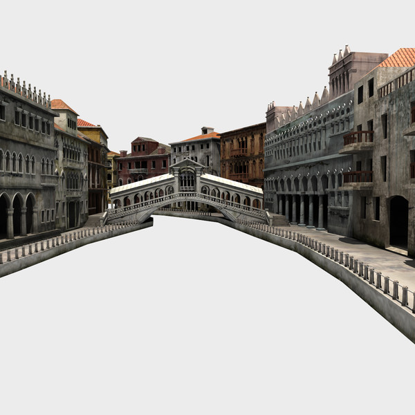 venice buildings 3d max - Italy Venice City... by ignisfatuus