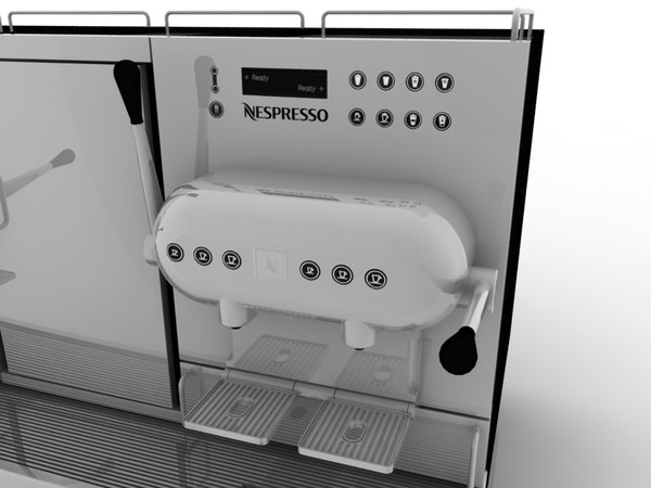 nespresso aguila coffee machine 3ds - Nespresso Aguila... by kaoscore