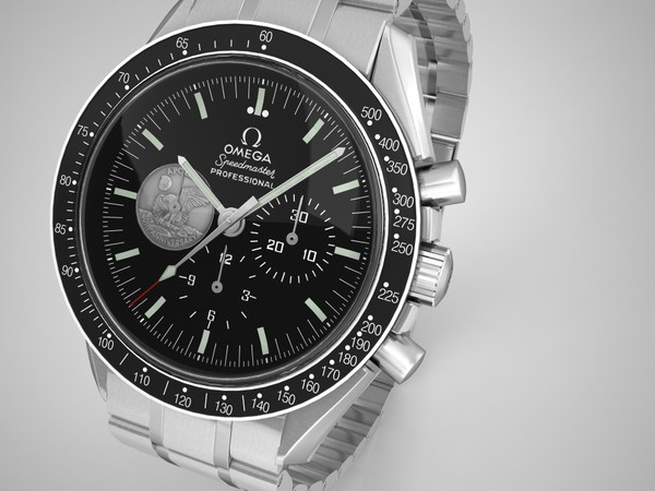 3d model omega speedmaster watches - Omega Speedmaster Collection... by VisuArt3D