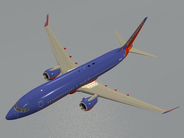 b 737-800 southwest max