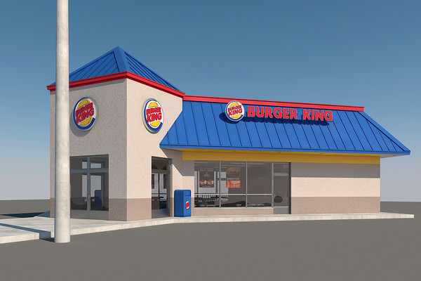 3d model burger king restaurant - Burger King Restaurant... by mmvis