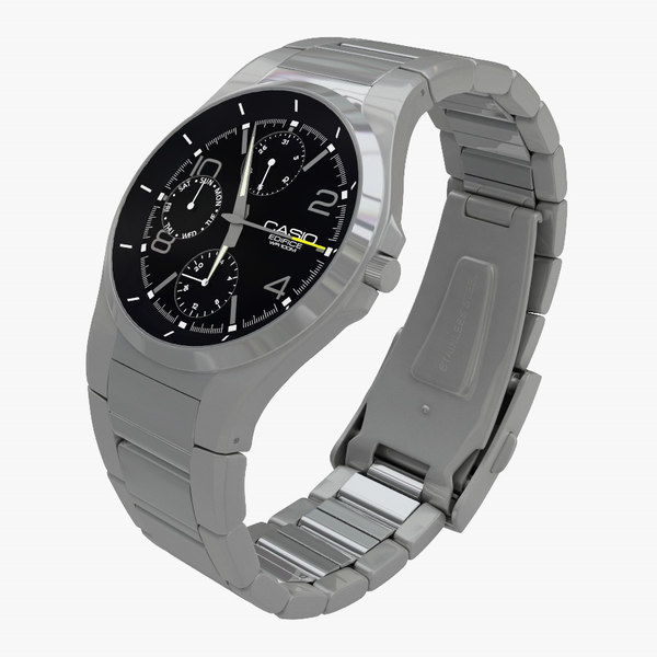 casio edifice watch 3d 3ds