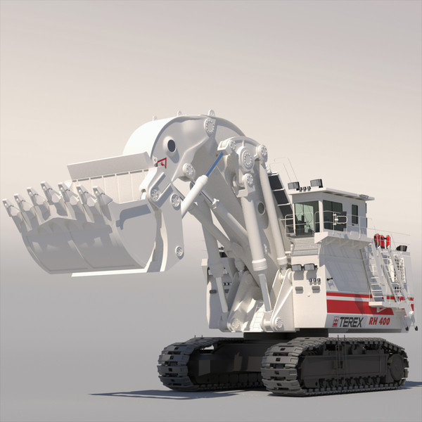 mining machines 3d model - Collection Mining Machines 2... by ArqArt3D