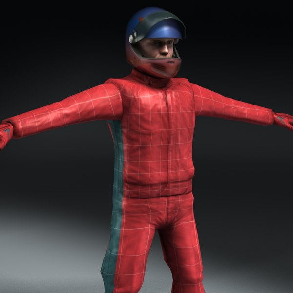 3ds realtime racing driver ready - Race Driver (Game Ready)... by ES3DStudios