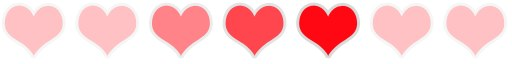 Fading hearts preloader