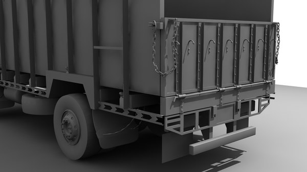 3d indian truck model - Indian Truck... by LSDhillon