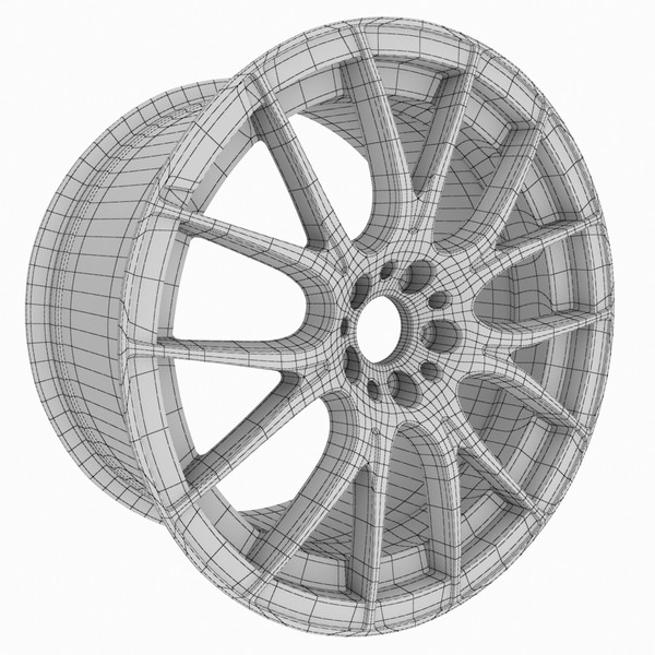 3ds max volk wheel - Wheel Scene 2... by redline_or_nothing