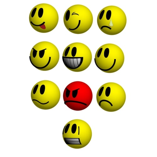 maya smilies loaders set