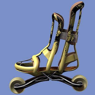 3d inlines shoe