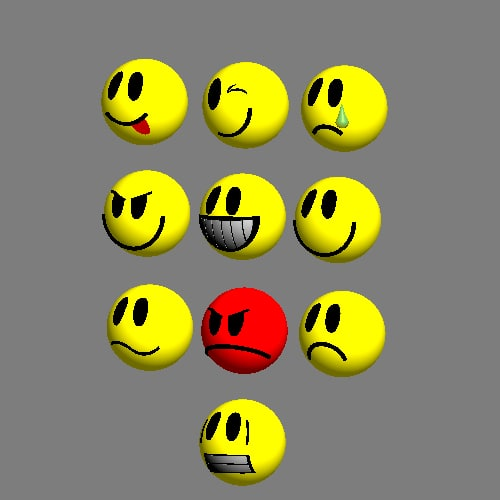 maya smilies loaders set - Smilies preloaders set... by preloaders