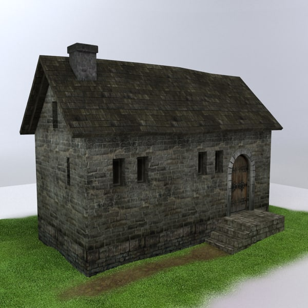 medieval building 3d max