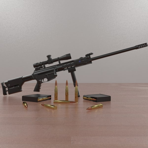 socom set 3d model - Colt M16A4 Complete Set... by commander566