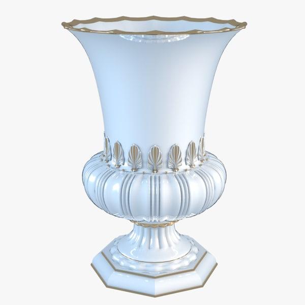 3d classical vase