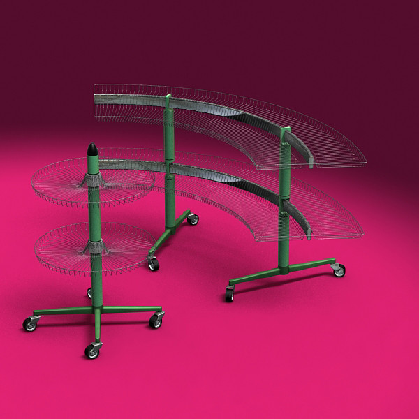 3ds max rack retail