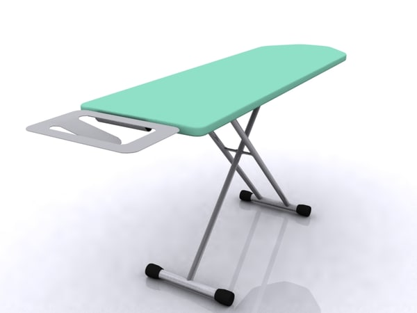 irons table 3d model
