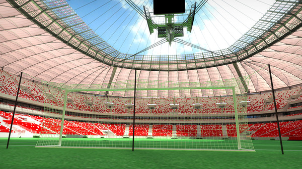soccer stadium fans animation max - Soccer Stadium with Animated Fans 2... by dtp.3d
