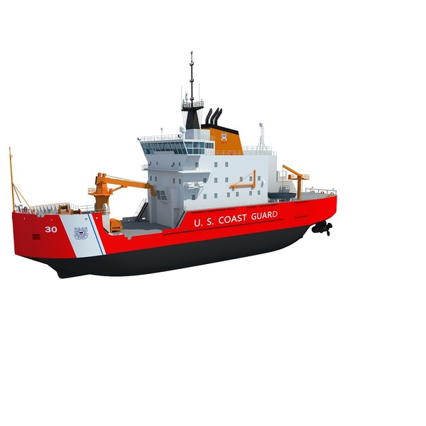 3d coast guard icebreaker mackinaw model - Coast Guard Icebreaker Mackinaw... by Gandoza