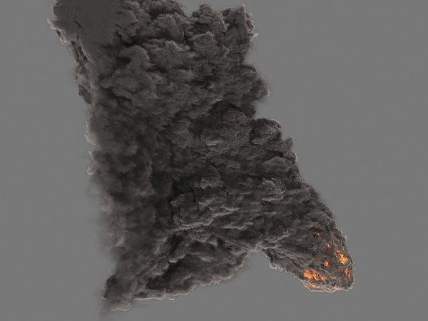 heavy smoke fumefx fx 3d model - FumeFx HeavySmoke... by Insect.Digital.Alchemy