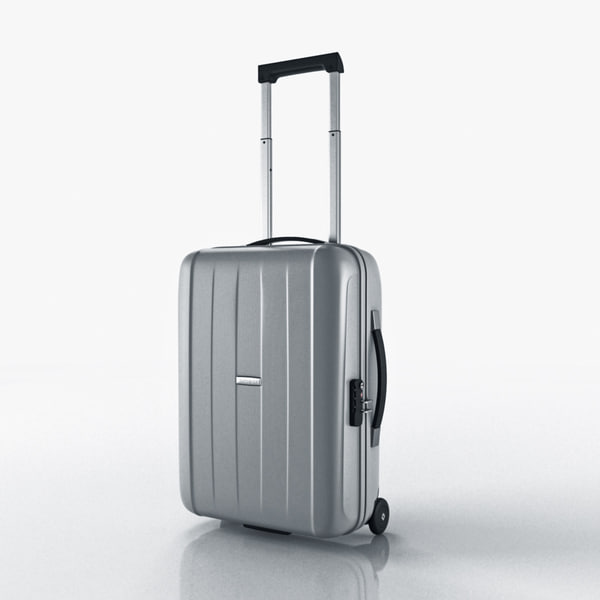 suitcase samsonite velocita upright 3d max - Suitcase Samsonite Velocita Upright 55-20... by mellow box