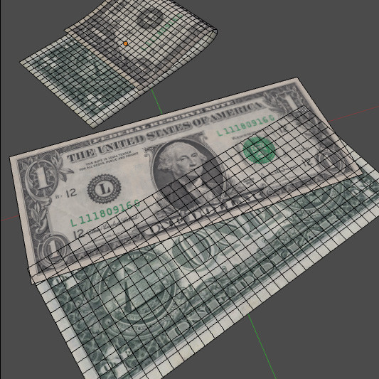 3d dollar 1 - 1 One US Dollar... by robstranges
