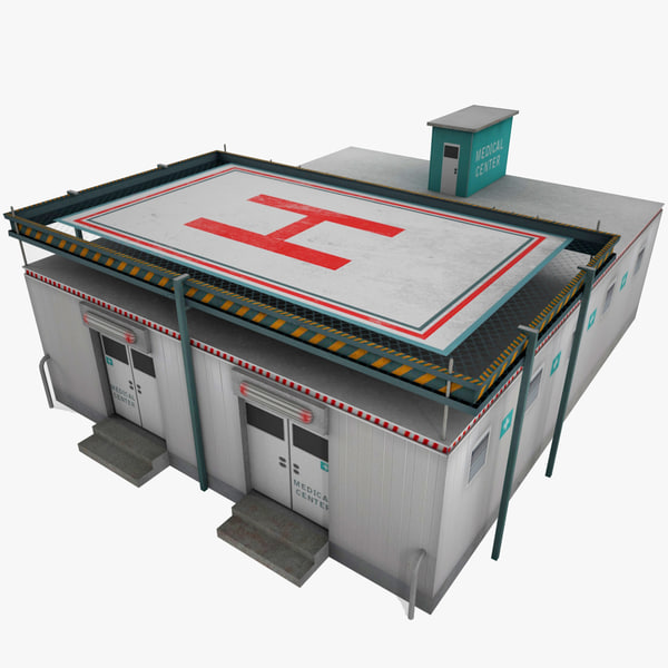 medical center 3d model