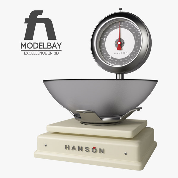 kitchen mixer scales obj - Kitchen Collection full... by modelbay