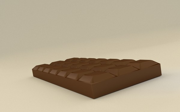 free model chocolate bar