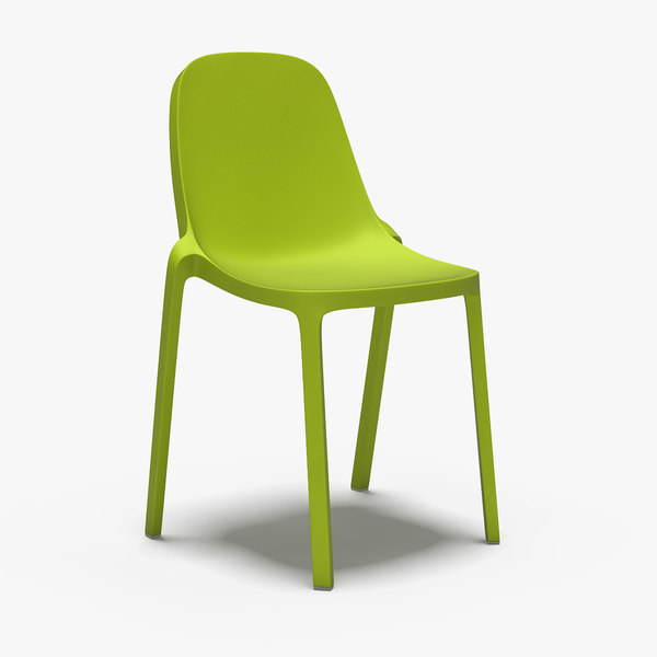 3d broom chair - philippe starck model