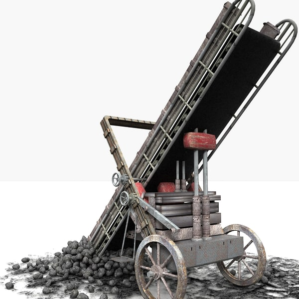 3d machine coal model - Coal Loader Machine... by Litarvan