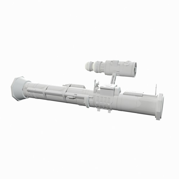 3ds max rocket launcher night vision - Anti Armor Rocket Launcher Bazooka Army w/ Night Vision... by Mister A