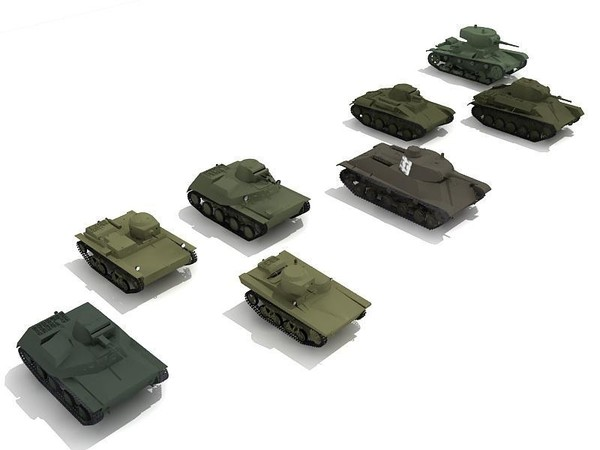 3d tank great patriotic model - Tanks of the Great Patriotic War... by ProductCompanyUA