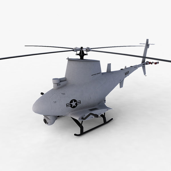 scout helicopter c4d - MQ-8B... by Polygon Puppet