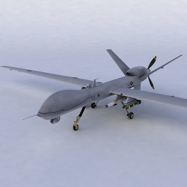 6 uavs 3d model - 6 UAVs... by Polygon Puppet
