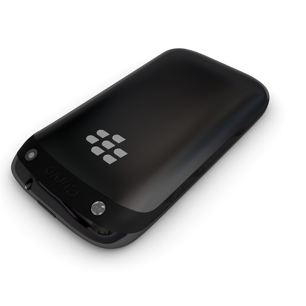 3d new blackberry curve 9320 model - new Blackberry Curve 9320 and 9220 Collection... by Leeift