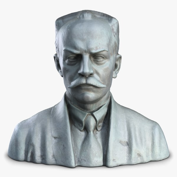 Sculpture 14 Man Bust