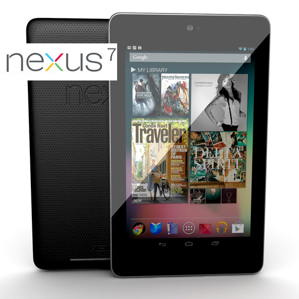 3d new google nexus 7 - new Google Nexus 7 Asus... by Leeift