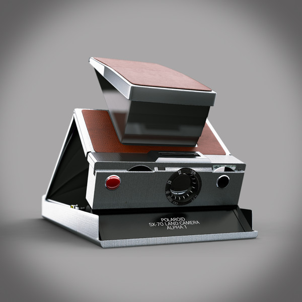 vintage polaroid camera max - Polaroid Camera... by erjensen