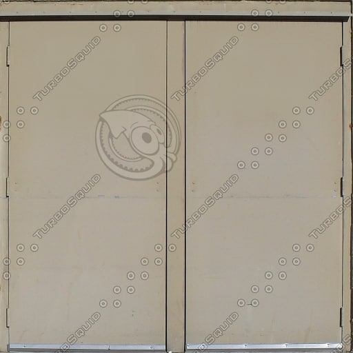Tan Twin Doors
