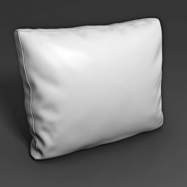 3d model pillow interior - Pillow 01... by btbt