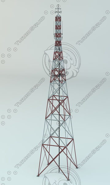 3d model antena