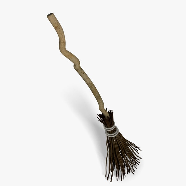 3d model of broom - Broom... by abramsdesign