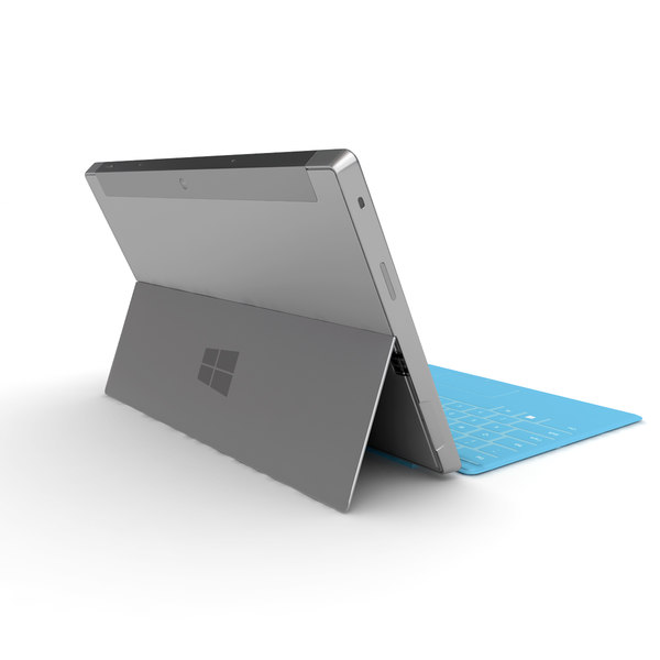3d model tablet microsoft surface - Microsoft Surface Tablet Collection... by Leeift