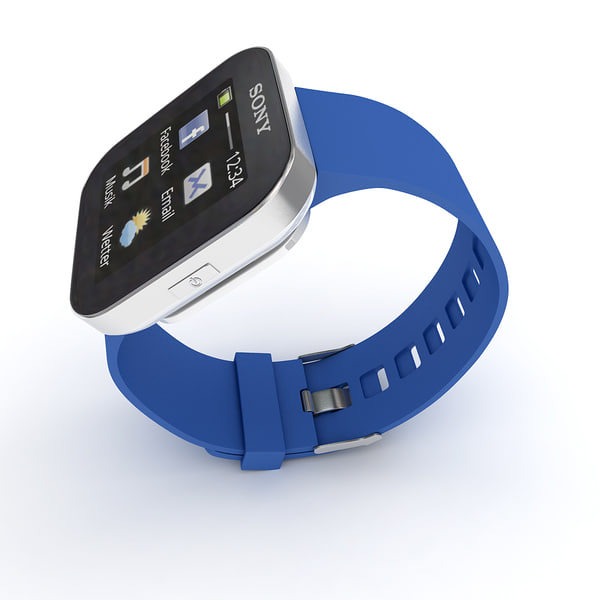 sony smartwatch 3d 3ds - Sony Smartwatch Collection... by Leeift