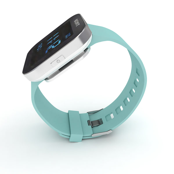 maya sony smartwatch green